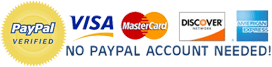 PayPal Verified since 2008