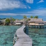 Togian Island Tour visiting The Bajau Village
