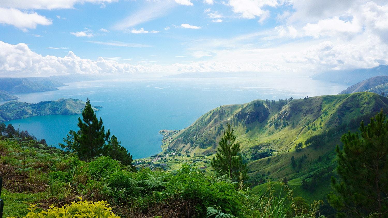 Lake Toba Panorama
